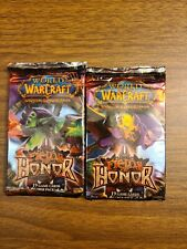 World of Warcraft Tcg Fields of Honor Booster Pack