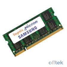 Memoria (RAM) de ordenador Samsung con memoria interna de 2GB