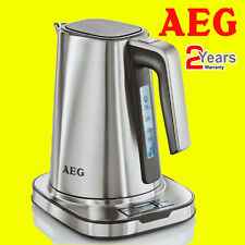 AEG EWA7800-U 7 Série 1.7 L Acier Inoxydable Digital Kettle 2400 W