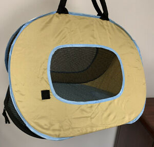 Foldable Cat Carrier Travel Bag With Zipper, Comfort Travel Tote Bag Mesh