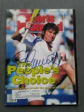 Jimmy Connors Autographed Sports Illustrated September 16, 1993 Ex Condition