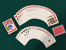 1 DECK Svengali Gaff Bicycle red playing cards