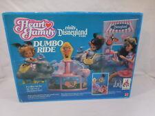 Disney Mattel Heart Family Visits Disneyland Park Dumbo Ride New In Box Rare1989