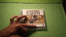 RARE Game Empire Earth Sierra PC Windows 95 XP CD-ROM VGC 2002