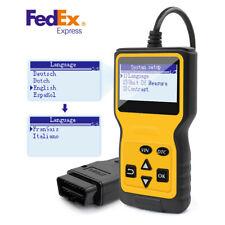 Car Fault Code Reader Engine Diagnostic Scanner Reset Tool OBD OBD2 EOBD OBDII