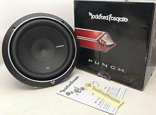 "Rockford Fosgate P2D4-10 Car 10"" Punch Dual 4-ohm Subwoofer 600W Max OPEN-BOX#"