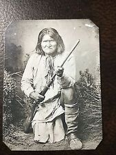 Geronimo Apache Native American TinType C802RP