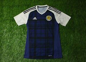 Scotland NATIONAL TEAM # 19 2015 2016 FOOTBALL SHIRT JERSEY HOME ADIDAS ORIGINAL