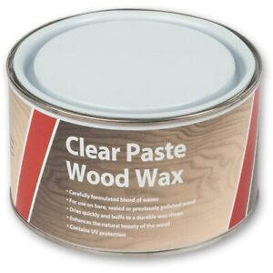 Axminster Paste Wood Wax - Clear 400g