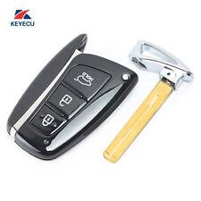 3 Button Remote Key Fob for Hyundai Santa Fe 2012-2015 433MHz ID46 SV1-DMFEU03