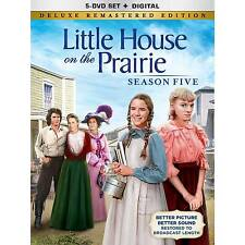Little House on The Prairie Season 5 Deluxe Remastered Edition DVD