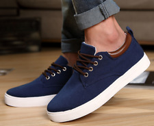 New Men Fashion Sneakers Casual Canvas Elevator Height Increasing Shoes Athletic