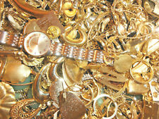 FASHION JEWELRY LOT GOLD TONE IN LARGE FLAT RATE BOX G-2