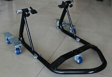 Motorcycle Rear Stand Dolly, Mover Space Saver, Moving Stand,Hooks n Flats HONDA