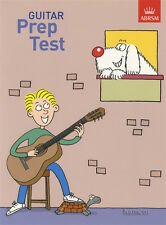 Guitar Prep Test ABRSM Classical Guitar Exam Sheet Music Book