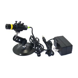 5VDC 808nm 200mW IR Infrarot Laser Dot Line Kreuzmodul mit Adapter 16x68mm