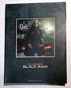 OZZY OSBOURNE BLACK RAIN BAND SCORE JAPAN GUITAR TAB