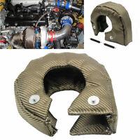 KQ_ PW_ T3 Titanium'Turbo Blanket T25 T28 GT25 GT35 Heat Shield Turbo Charger Co