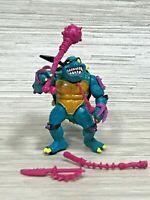 Vintage TMNT Teenage Mutant Ninja Turtles Slash Figure Playmates 1990 Complete