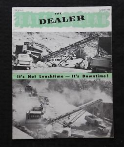 "1950 CATERPILLAR ""THE DEALER"" SALES MAGAZINE D4 TRACTOR J Z HORTER HAVANNA CUBA"