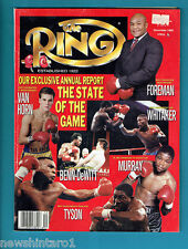 #AA. THE RING BOXING MAGAZINE, DECEMBER 1990