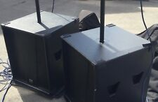 Martin Audio Blackline S18+ Bass Bins Pair + Martin Audio Covers.