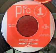 Johnny Williams & The Jokers 105 45rpm Pic 1 Houston, Tx Texas Long Blck Veil 45