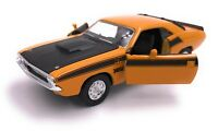 Dodge Challenger T/A 1970 Modellauto Auto LIZENZPRODUKT 1:34-1:39 versch. Farben