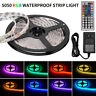 5M SMD RGB 5050 Waterproof 300 LED Strip Light 44 Key Remote 12V 3A Power Lot
