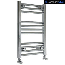 400mm Wide 600mm high Bathroom Heated Towel Rail Radiators Rad Chrome Curved