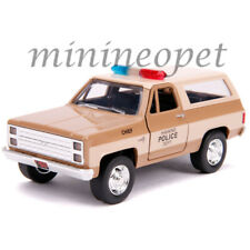 JADA 31114 HOLLYWOOD RIDES STRANGER THINGS HOPPER'S CHEVY BLAZER 1/32 POLICE
