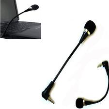 Tragbar 3.5mm Stecker Flexible Mikrofon für PC Laptop Notebook Skype Yahoo