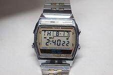 Vintage 1990 - Timex Quartz Lithium Chronograph Alarm Timer Digital Men's Watch