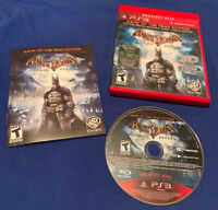 PlayStation 3 PS3 Batman: Arkham Asylum Game of the Year Edition Complete GOTY