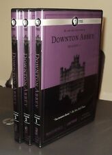 DOWNTON ABBEY Season 1 2 3 (2012, 9 DVD) Deluxe Limited Edition: No Box: PBS