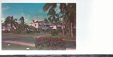 A Street Scene Of Typical Florida Home  FL  Unused Plastichrome Postcard 544