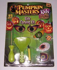 PUMPKIN MASTERS HALLOWEEN PUMPKIN CARVING KIT 15 Pcs  NEW!