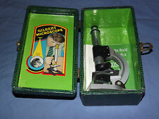 VINTAGE SCIENCE TOY 1954 GILBERT MICROSCOPE IN BOX