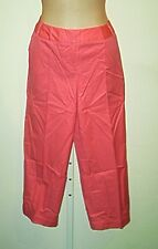 Bloomingdales NWT 100% Cotton Colored  Cropped Capri  Pants Sz 8P