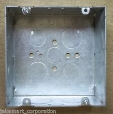 Raco Outlet Box 4 1/2in Square 2in Deep