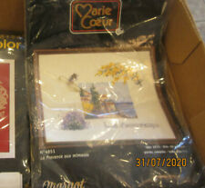1997 Counted Cross Stitch Kit - Marie Coeur - Lou Prouyenco provence - No 4851