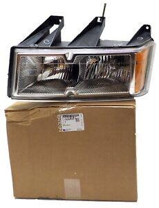 19209127 New NOS Driver Side Head Lamp 2004-2012 Chevy Colorado GMC Canyon