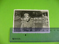 Altes Foto Soldat der Wehrmacht Sommer 1942, Blanchelande Normandie