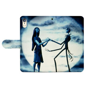Nightmare Before Christmas Flip Wallet Cover Case fit for P30 Stylo 5 OnePlus 6