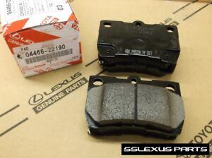Lexus IS350 (2006-2013) OEM Genuine REAR BRAKE PADS / PAD SET 04466-22190
