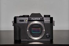 Fuji Fujifilm X-T10 16.3MP Mirrorless Digital Camera Body Only - Black