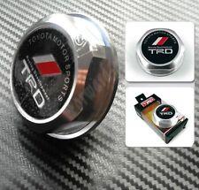 TRD Logo Aluminum Silver Engine Oil Filler Cap Cover For Toyota/Lexus/Scion