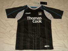 Manchester City Soccer Jersey Reebok Top  Football Shirt  BNWT