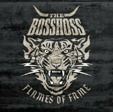 THE BOSSHOSS - FLAMES OF FAME (DELUXE VERSION)  CD + DVD  COUNTRY ROCK  NEUF