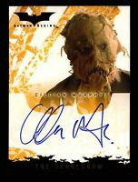 Batman Begins Movie Cillian Murphy as the Scarecrow Autograph Card Topps 2005